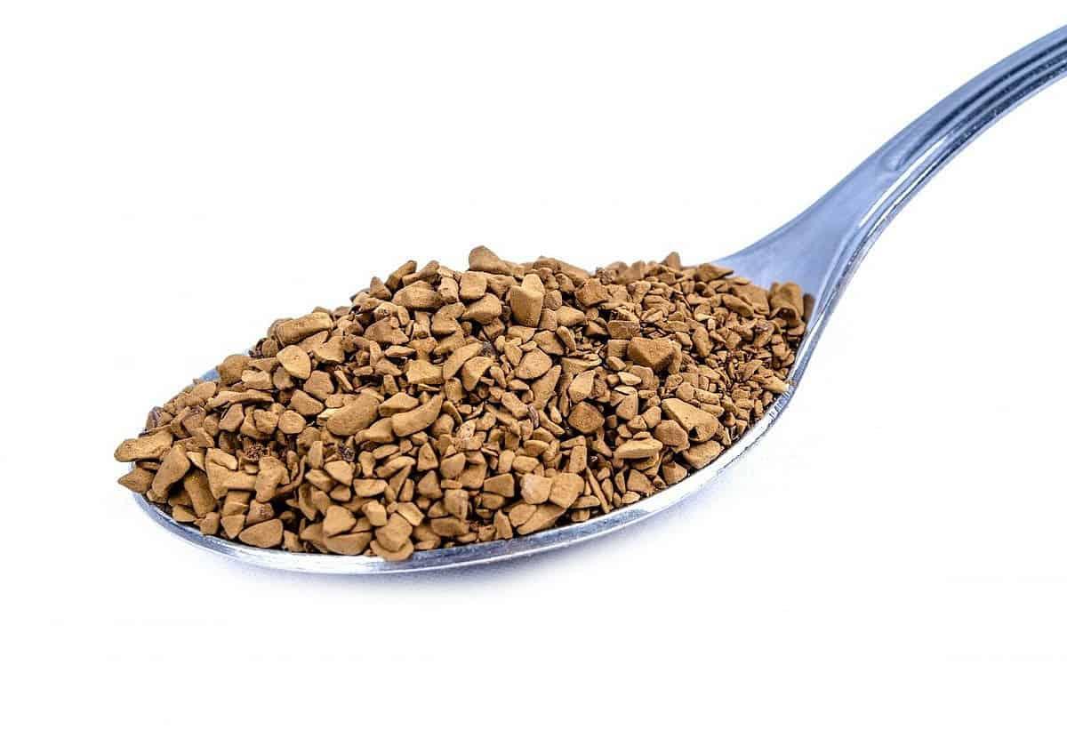 ground instant coffee