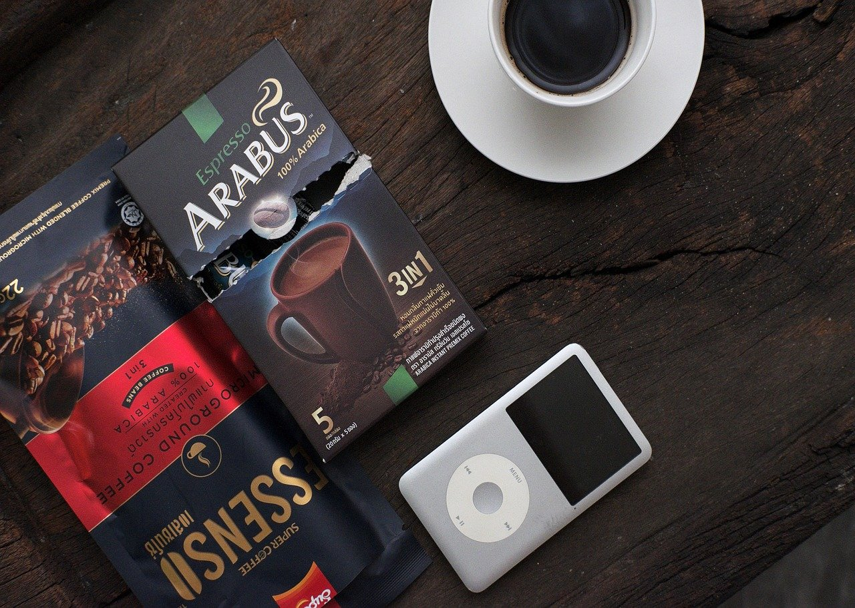instant coffee packs