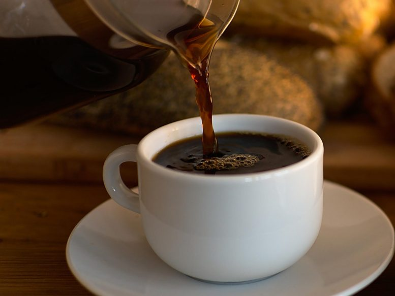 Taste and aroma of coffee